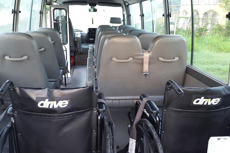 Wheelchair Access Bus
