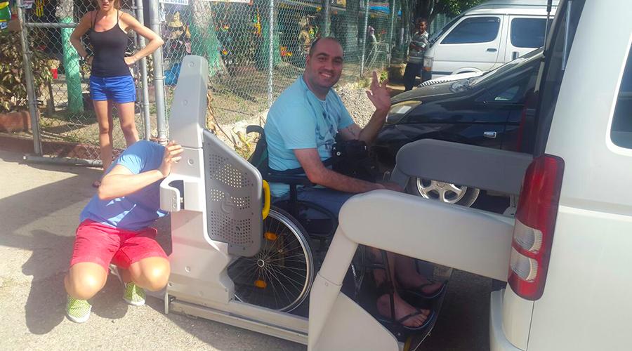 Ocho Rios Wheelchair Taxi | Jamaica Wheelchair Taxi - transport for wheelchair passengers