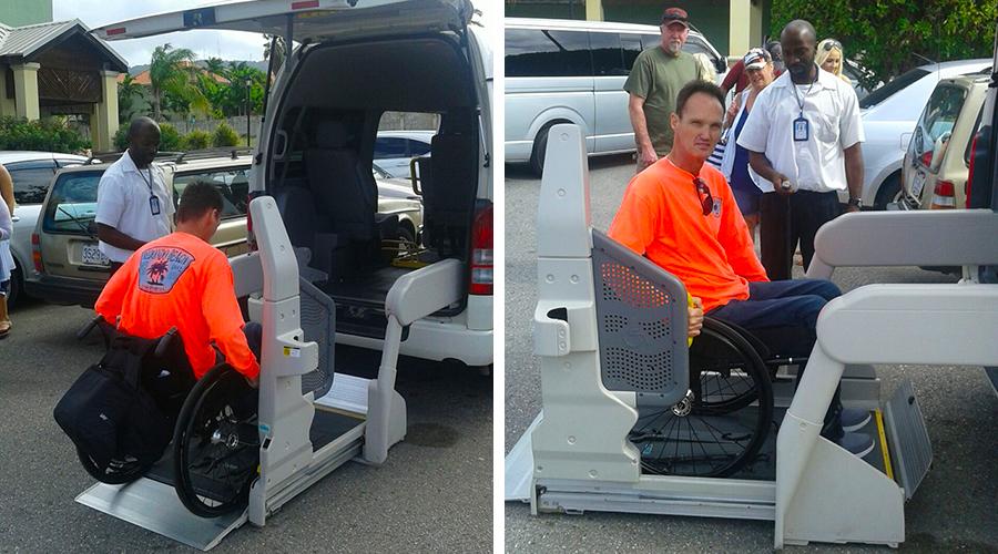 Falmouth Wheelchair Taxi | Jamaica Wheelchair Taxi - transport for wheelchair passengers